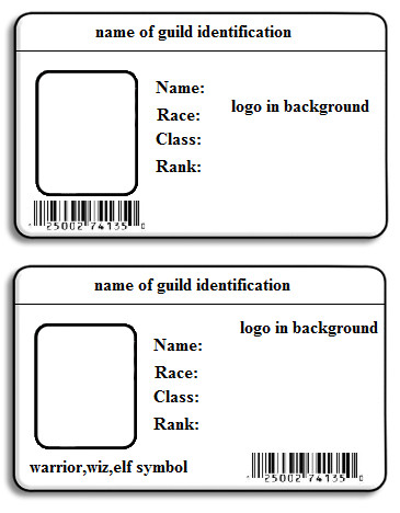 18 Blank Employee ID Card Template Images
