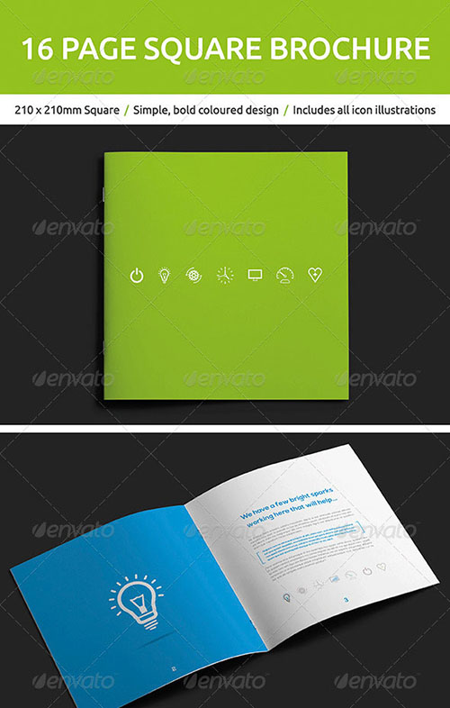 InDesign Brochure Design Templates