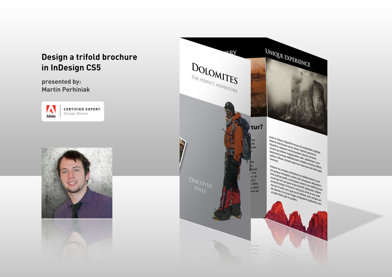 InDesign Tri-Fold Brochure