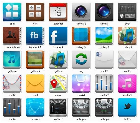 iPhone Phone Icon PSD