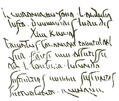 Latin Writing Cursive Letters