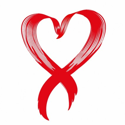 Love Heart Awareness Ribbon