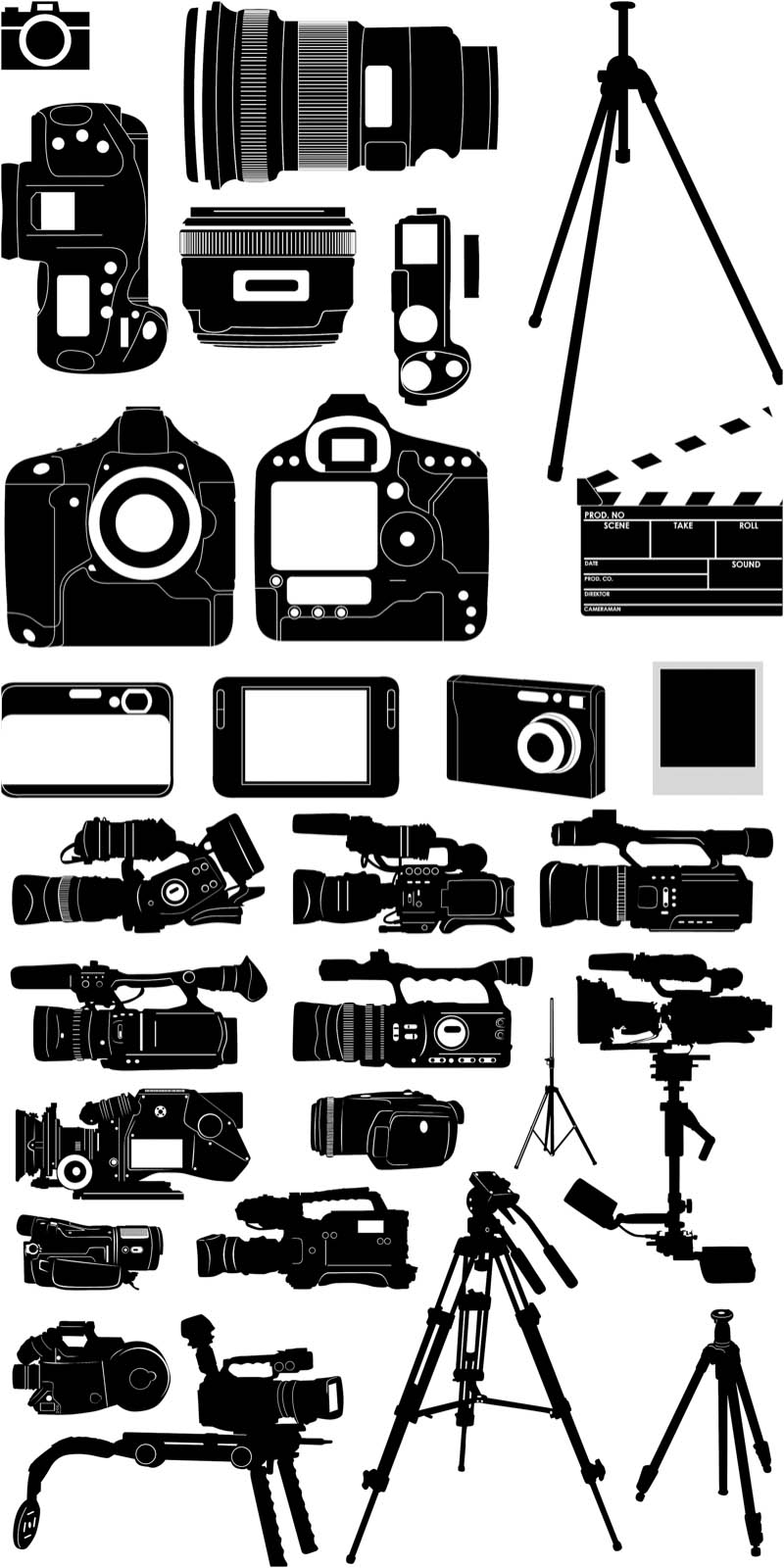 10 Camera Vector Art Images