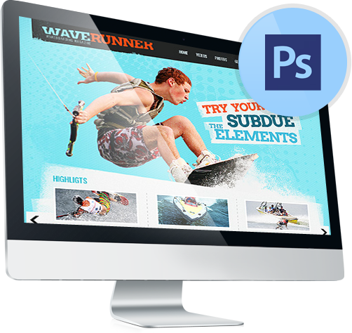 Photoshop PSD Templates