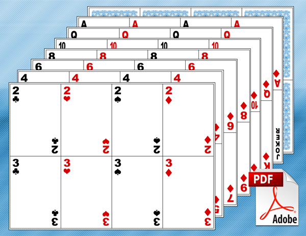 13 Playing Card Design Template Images