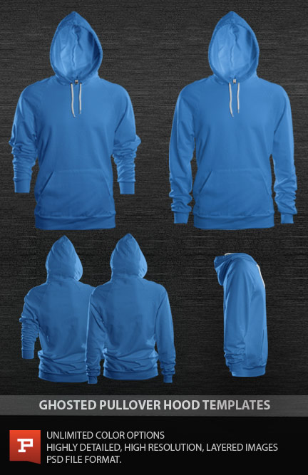 13 Hooded Tee Mockup PSD Images