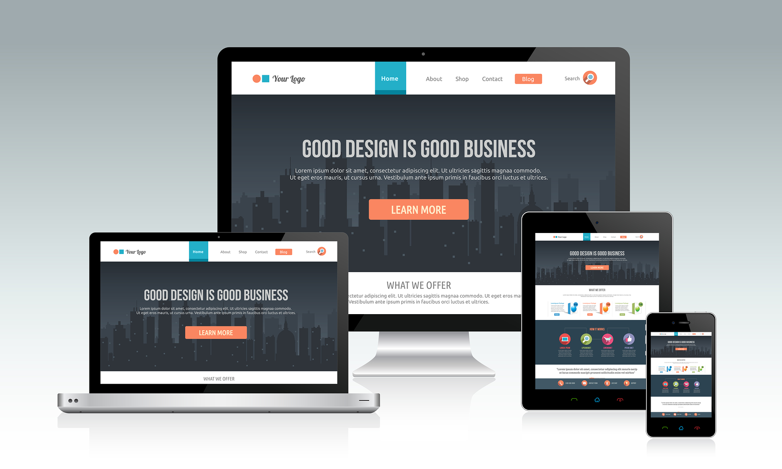6 Responsive Web Design Tutorial Images