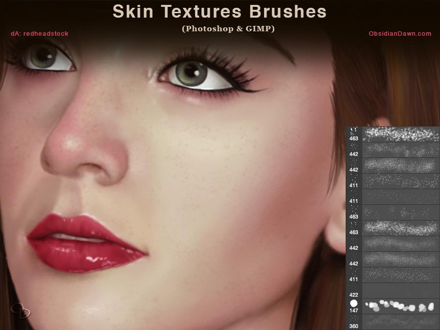 Skin Texture Photoshop Brush
