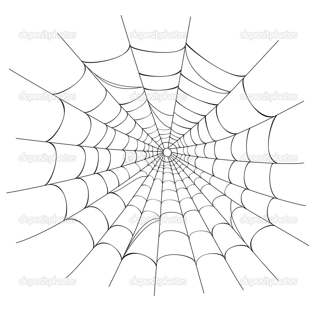 18 spider web vector design images spider web vector art for Easy drawing websites