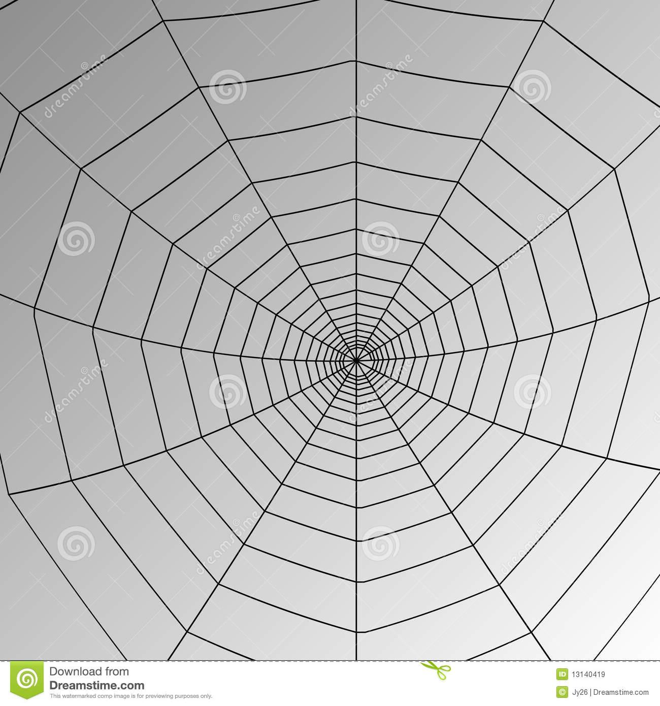 Spider Web Vector Art