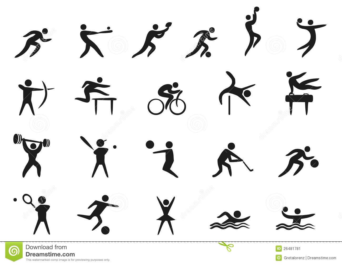 Sports Symbols Clip Art