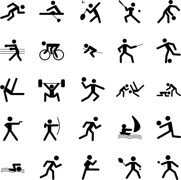 14 Sports Icon Symbols Images
