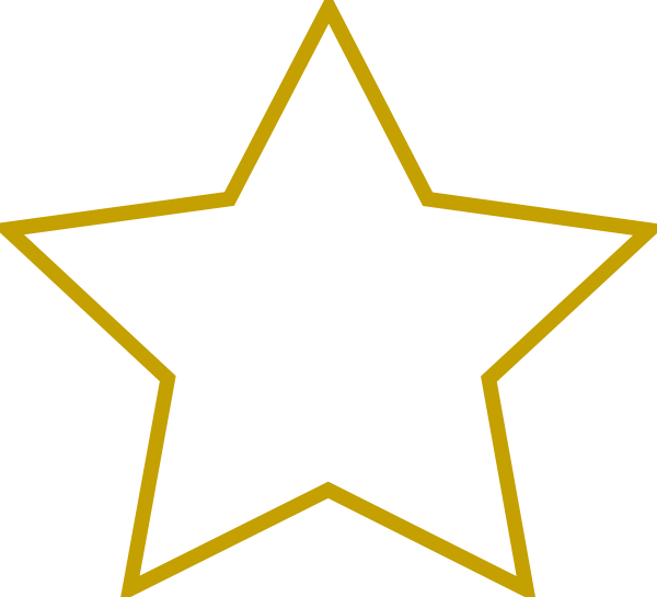 14 Star Shapes Clip Art Vector Images
