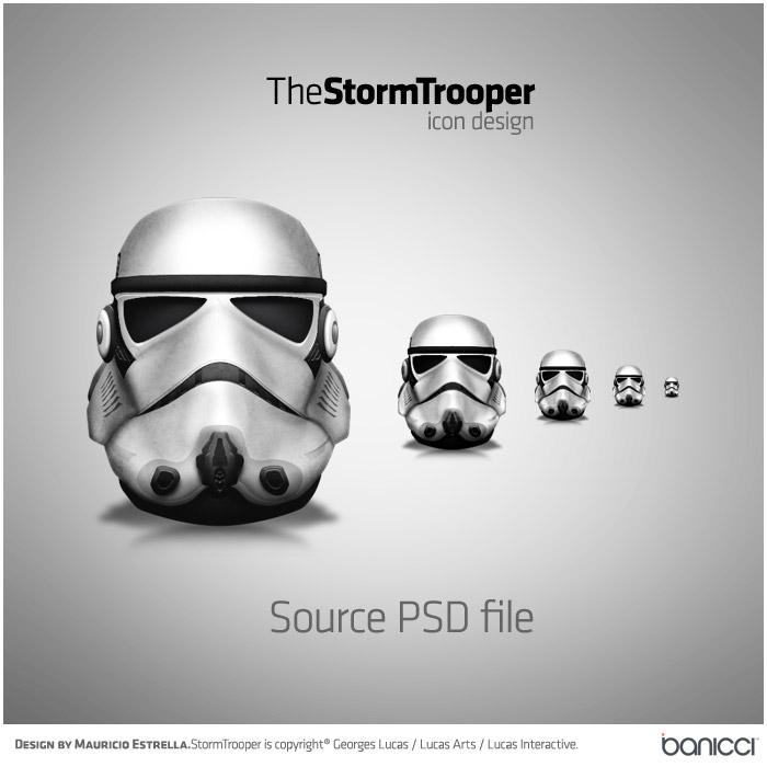 Stormtrooper Helmet Icon