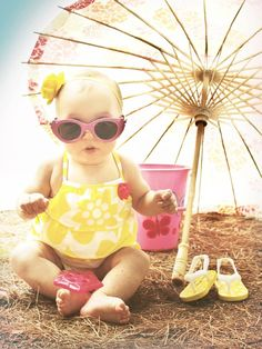 11 Baby Girl Summer Photography Images