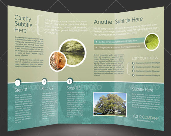 Tri-Fold Brochure Template InDesign