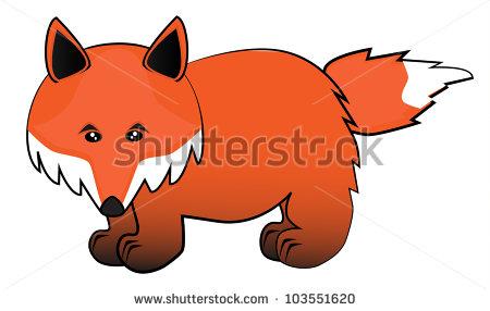 Vector Cartoon Fox