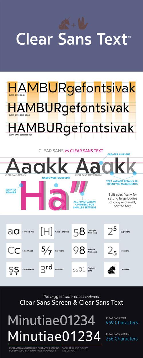 Vector Font Templates