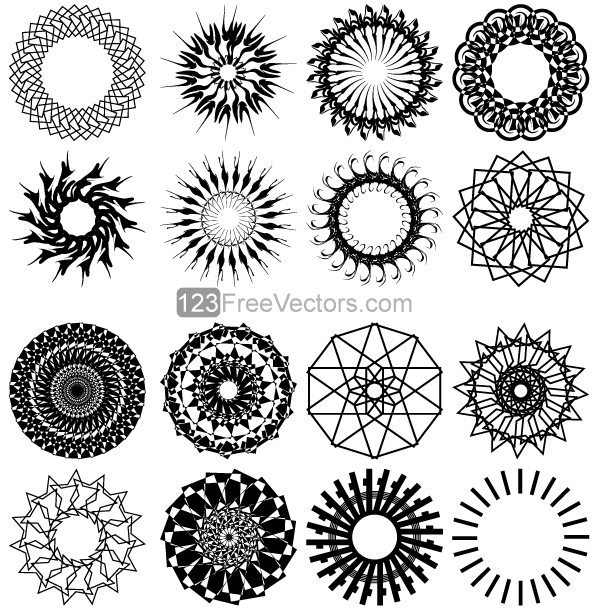 Vector Geometric Circle Designs