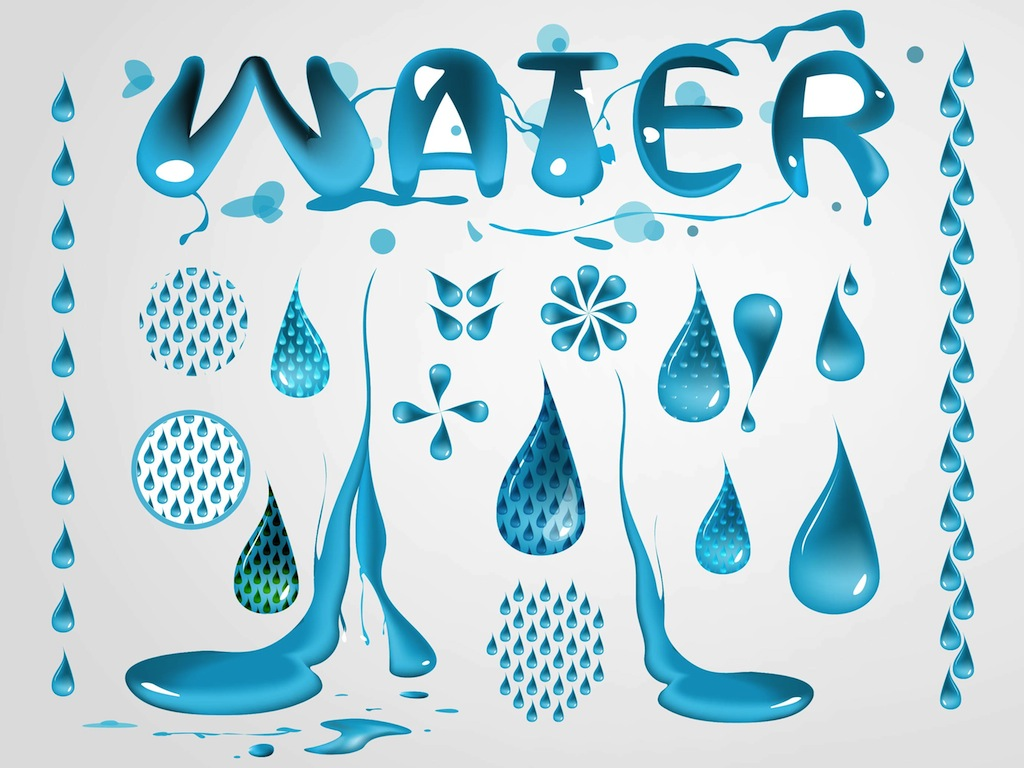 17 Free Water Vector Images