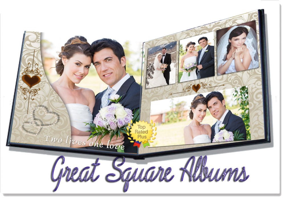 10 photo album templates for photoshop images wedding for Wedding photo album templates in photoshop