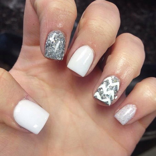 15 Simple White Nail Design Ideas Images