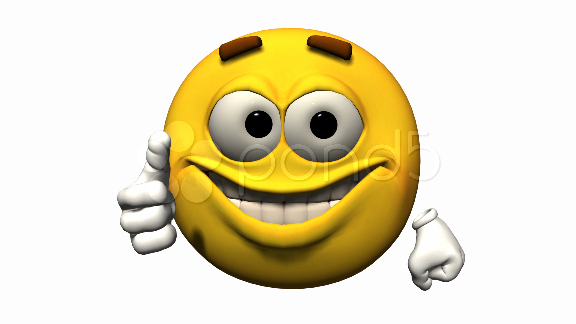 3D Smiley Animated Emoticons