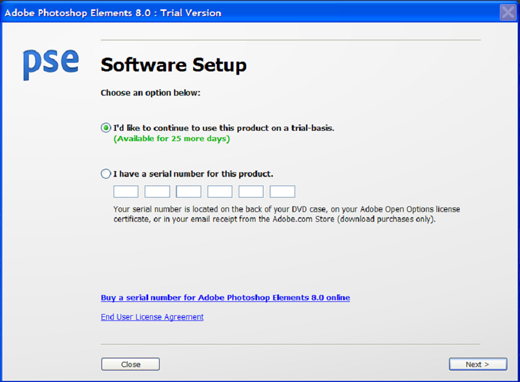 adobe photoshop 8 activation key