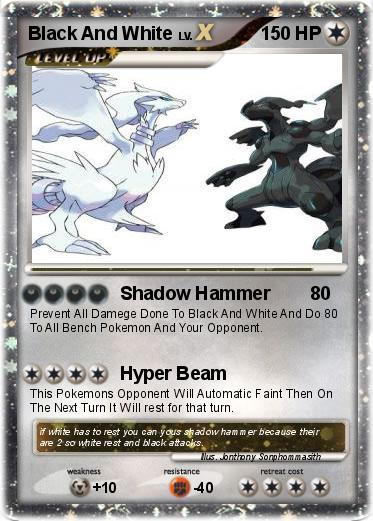 All Pokemon Cards Black and White