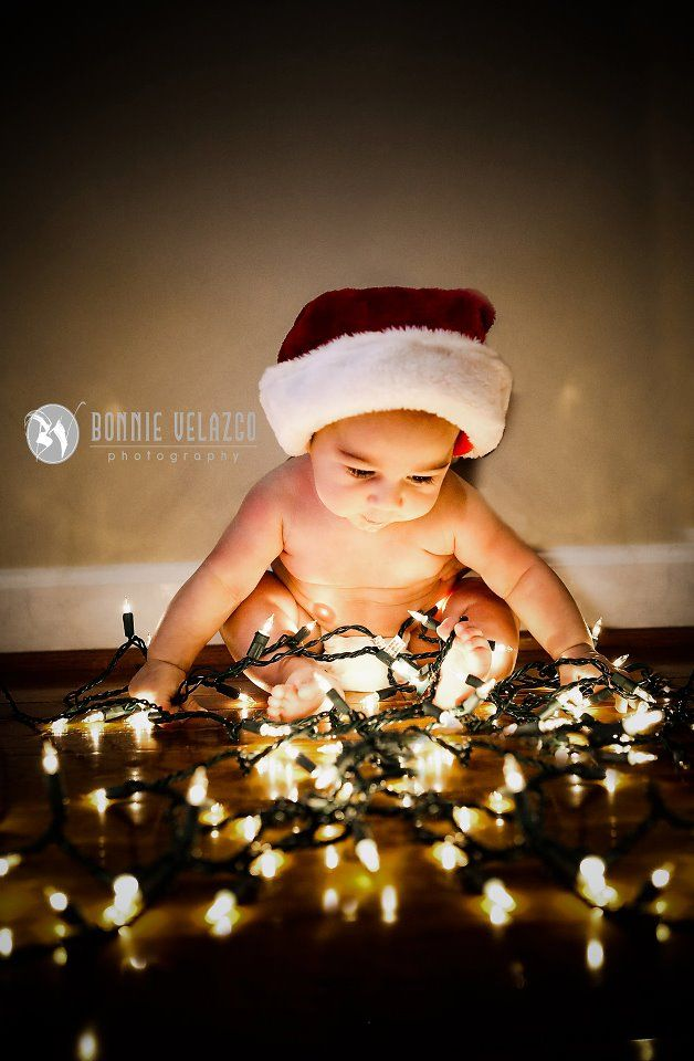 Baby Christmas Portrait Ideas