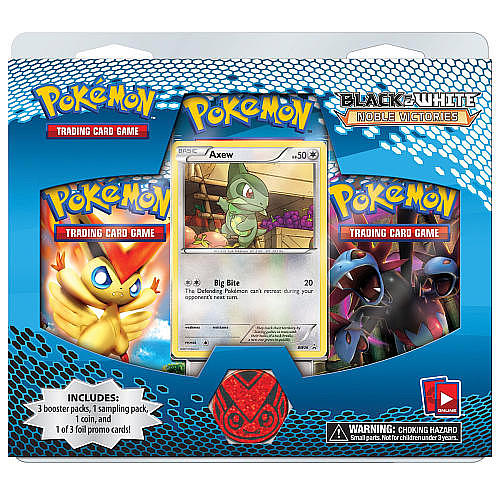 Black and White Pokemon Card Packs