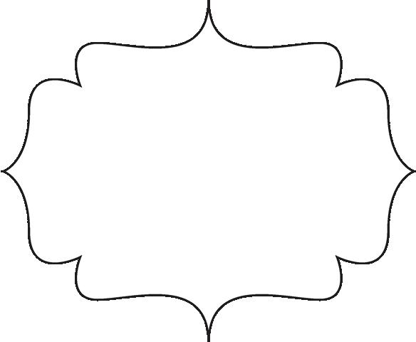 Black Bracket Frame Clip Art