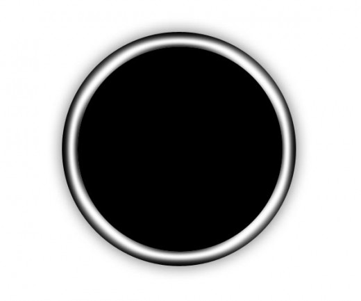 12 Black Circle Mail Icon Images