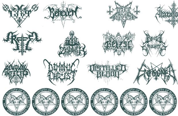 11 Metal Letter Font Images - Fonts Alphabet Letters, Free