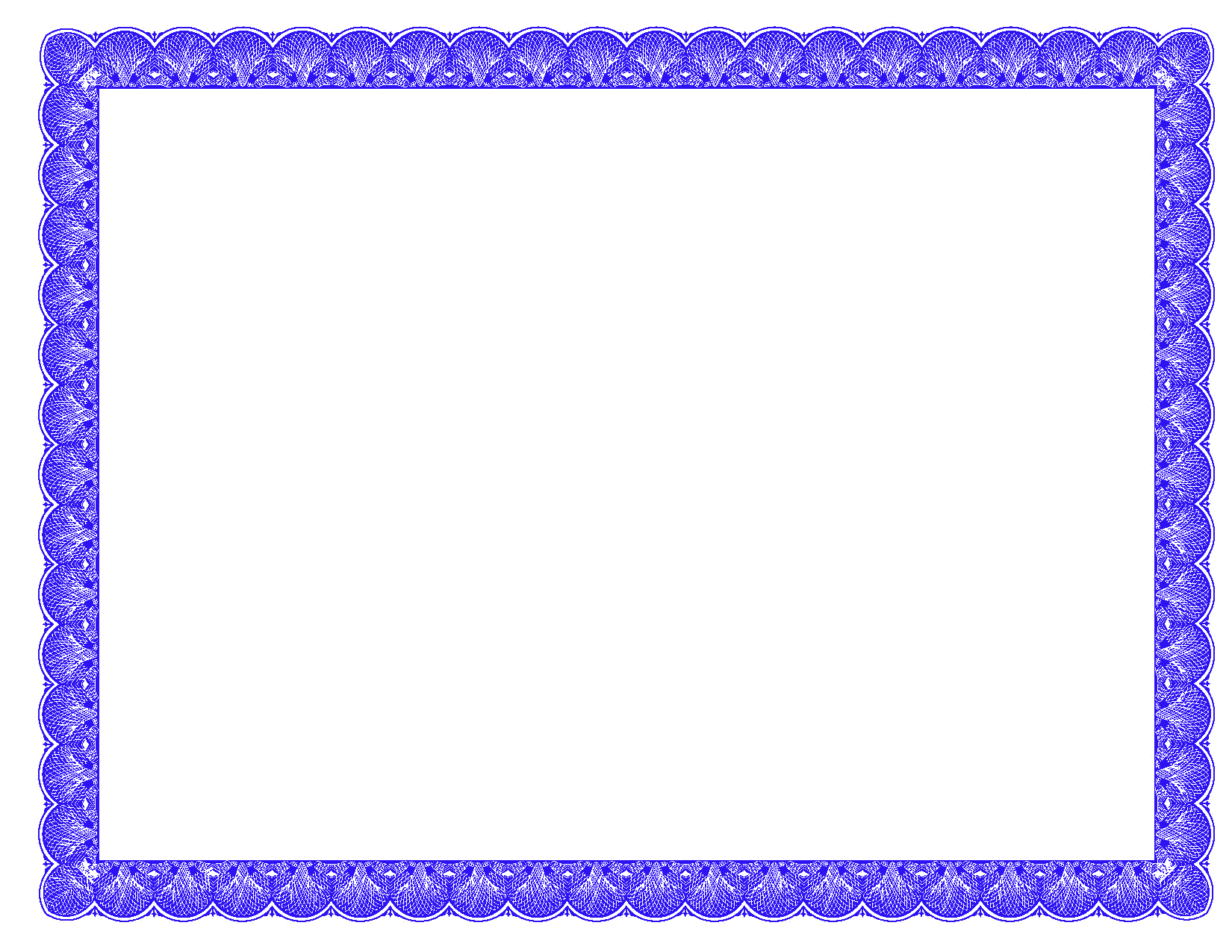 10 Free Certificate Border Psd Images Blue Certificate Border Clip