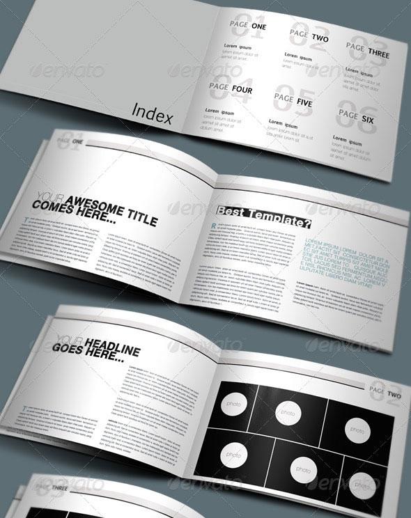Booklet Brochure Design Templates
