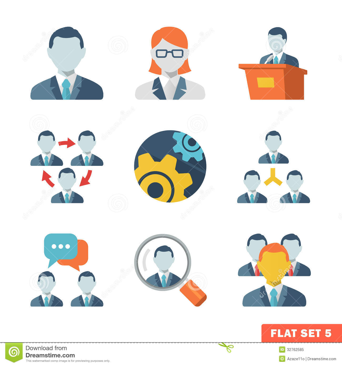 17 Free Business Person Icon Flat Images