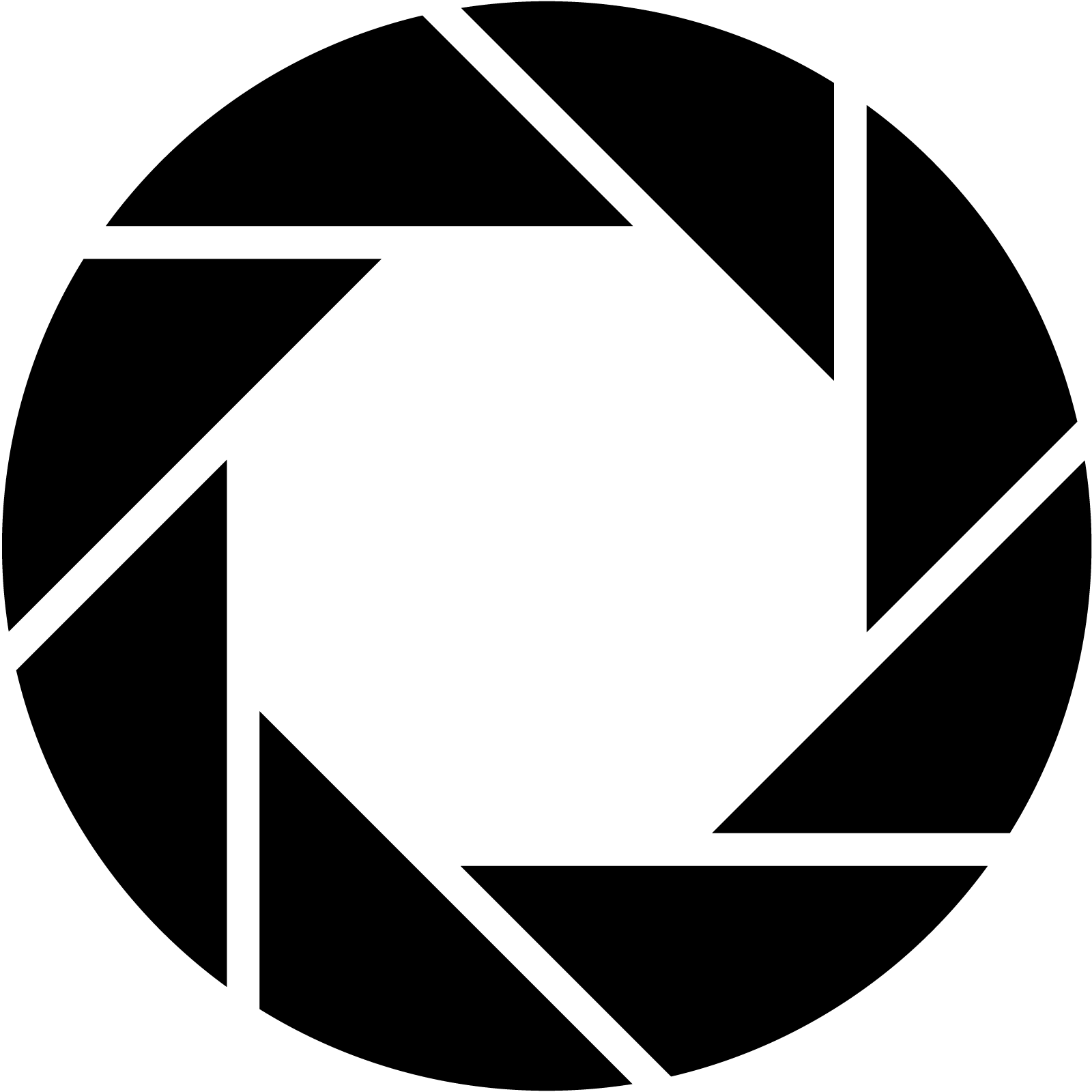 Camera Aperture Symbol