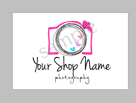 Camera Logo PSD File