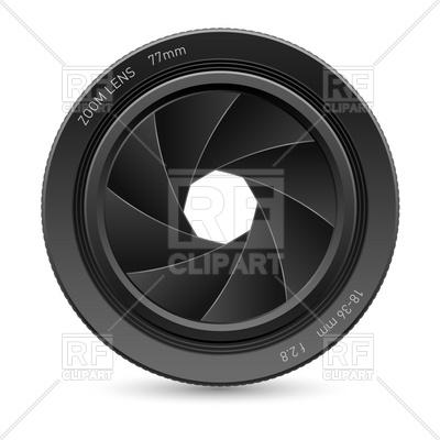Camera Shutter Lens Clip Art