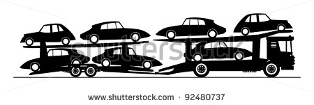 Car Carrier Truck Clip Art