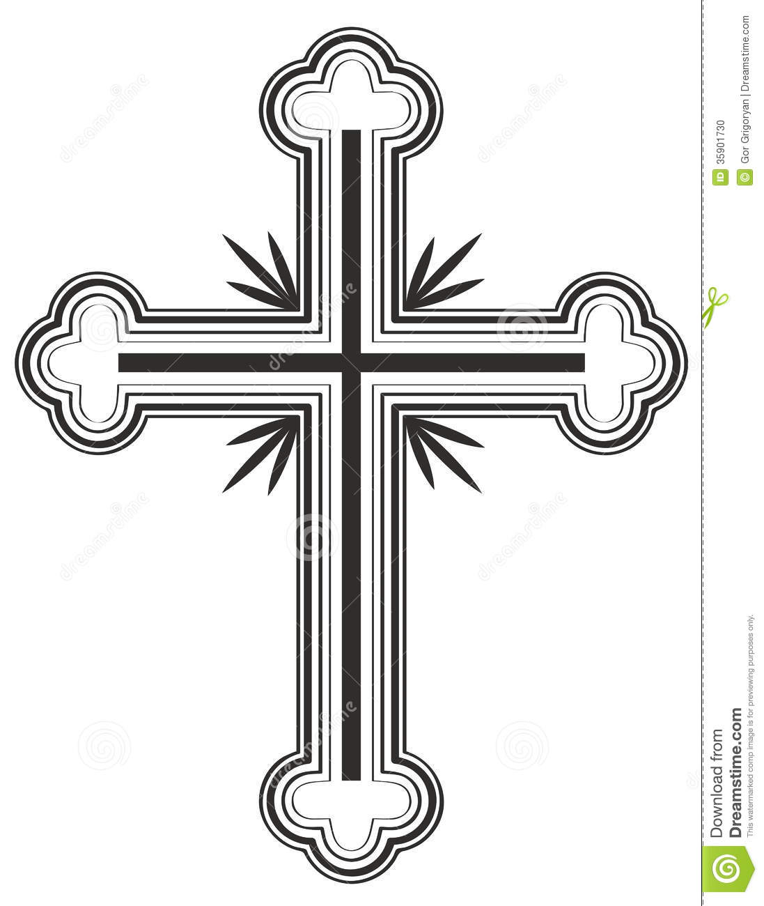 16 Church Cross Vector Images