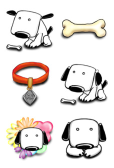 Dogs Free Desktop Icons
