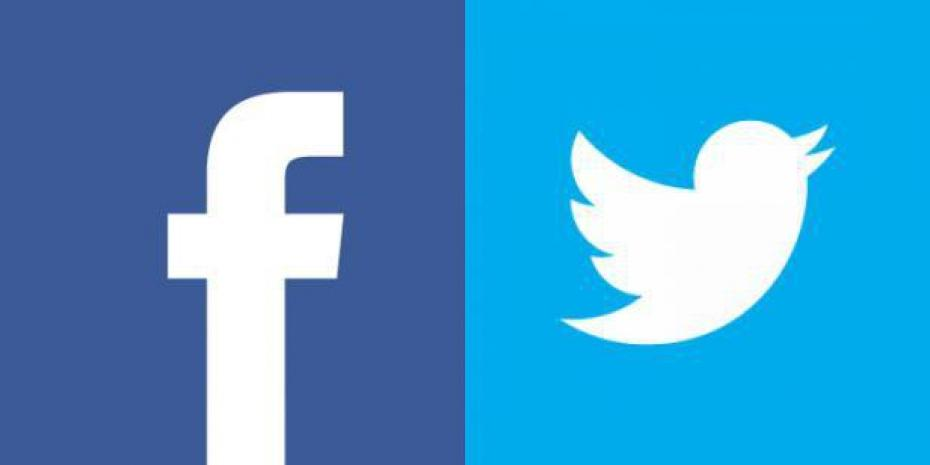 facebook and twitter logos vector wwwpixsharkcom