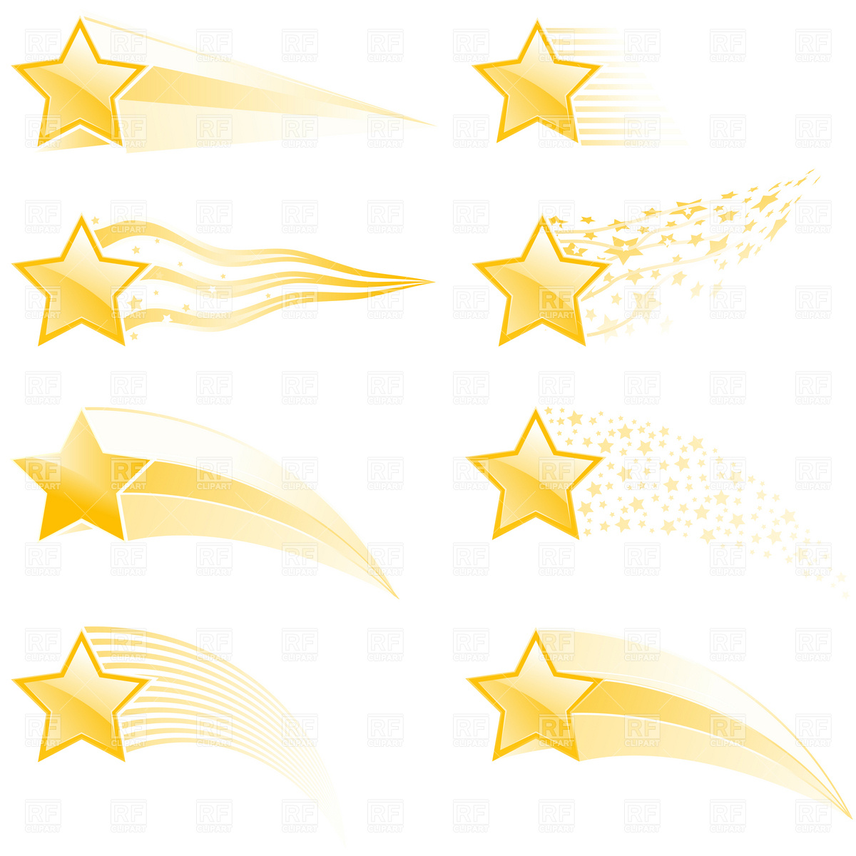 20 gold shooting stars vector images 5 gold stars clip shooting star clipart free shooting star clipart gif