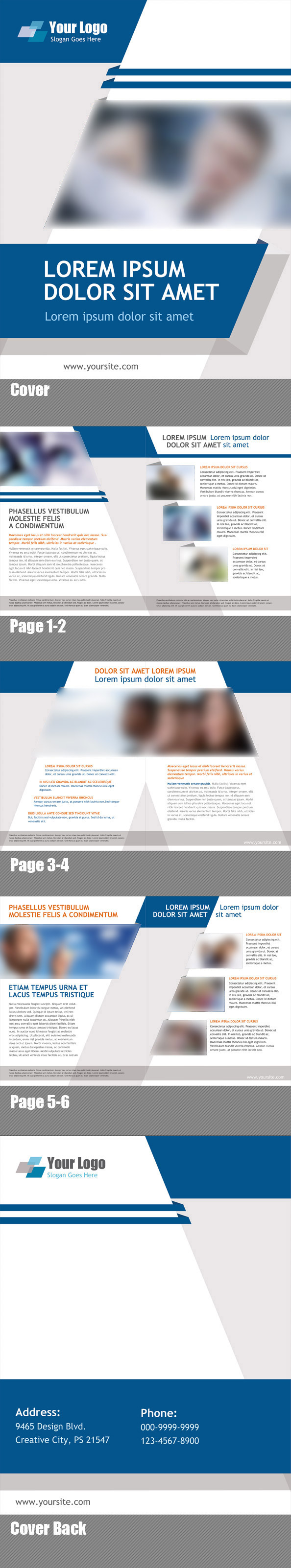 Free 8 Page Booklet Template