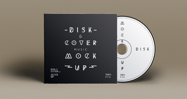12 Free CD Cover Template PSD Images
