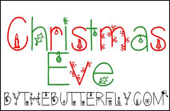 10 12 Christmas Fonts Free Images