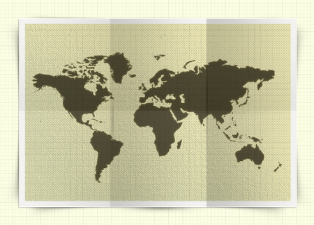 Free Map Templates Photoshop