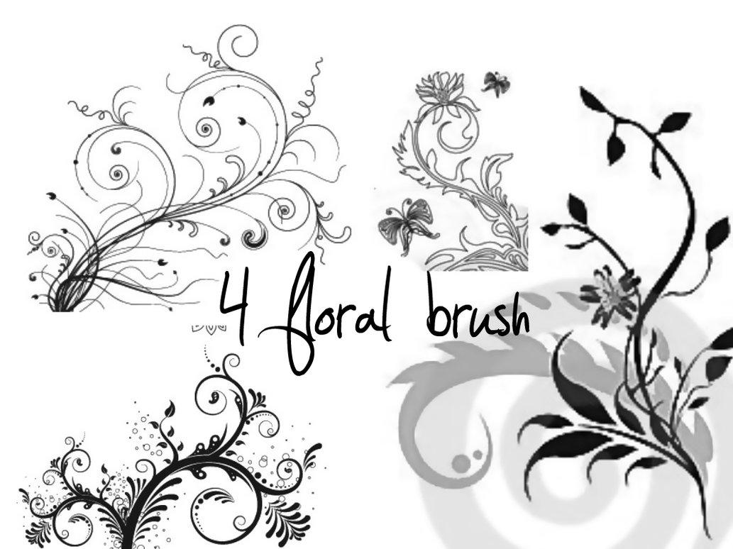 Free Photoshop Flower Brushes